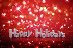 Christmas glitter background Royalty Free Stock Images