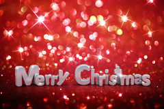 Christmas glitter background Stock Photo