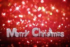 Christmas glitter background Stock Photo