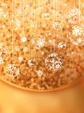 Christmas Glittering background card. EPS 10 Royalty Free Stock Images