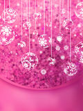 Christmas Glittering background card. EPS 10 Stock Photo