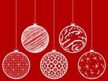 Christmas globe Stock Photography
