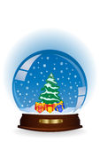 Christmas globe Royalty Free Stock Images