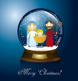 Christmas globe Royalty Free Stock Photo