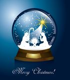 Christmas globe Stock Image