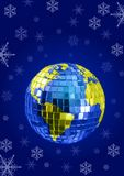 Christmas globe Royalty Free Stock Photography