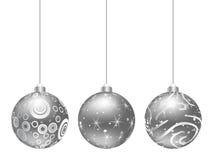 Christmas globe Stock Images