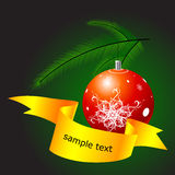 Christmas globe Stock Photos