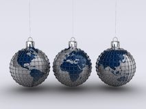 Christmas globe 9 Stock Photography