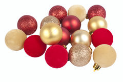 Christmas globes Royalty Free Stock Photos