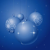 Christmas globes Royalty Free Stock Photo