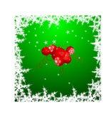 Christmas globes background Royalty Free Stock Photo