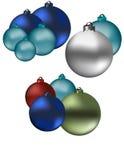 Christmas Globes Royalty Free Stock Photo