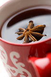 Christmas glogg with aniseed Stock Photography