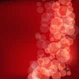Christmas Glowing Lights Design Royalty Free Stock Photography