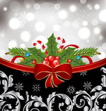 Christmas glowing packing Royalty Free Stock Images