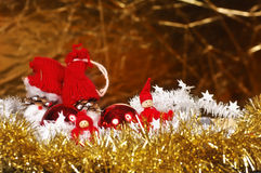 Christmas gnome toys Royalty Free Stock Photo