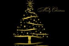Christmas Gold Stock Photo