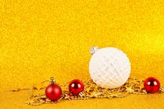Christmas gold background royalty free stock photo