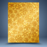 Christmas gold abstract background royalty free illustration