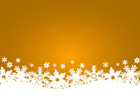 Christmas gold background Royalty Free Stock Photo