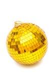 Christmas gold ball Stock Photography