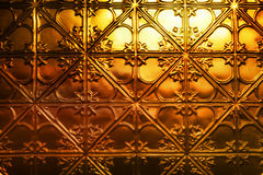 Christmas Gold Metal Background Royalty Free Stock Photography