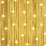 Christmas gold shiny background Stock Photos