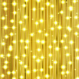 Christmas gold shiny background Royalty Free Stock Image