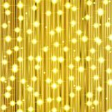 Christmas gold shiny background Royalty Free Stock Image