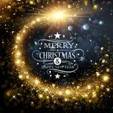 Christmas Gold Star Stock Photos