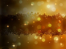 Christmas gold vector background. EPS 8 Stock Photos