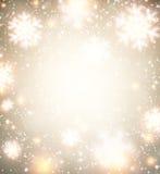 Christmas golden abstract background. Stock Photos
