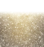 Christmas golden abstract background. Stock Image