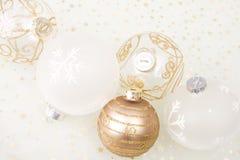Christmas golden background Stock Photo