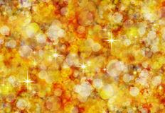 Christmas golden background. Stock Images