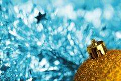 Christmas golden ball Royalty Free Stock Photos