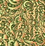 Christmas golden wallpaper Royalty Free Stock Image