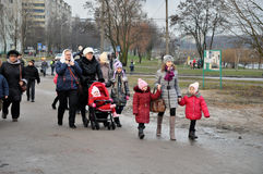 Christmas in Gomel. Stock Photography