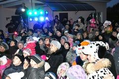 Christmas in Gomel. Stock Photos