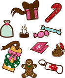 Christmas Goodies Royalty Free Stock Photos
