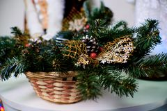 Christmas goods royalty free stock photography