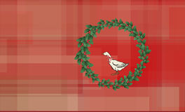 Christmas Goose Royalty Free Stock Photo