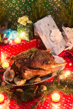 Christmas goose Royalty Free Stock Images
