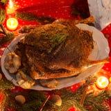 Christmas goose Royalty Free Stock Photo