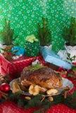 Christmas goose Stock Photos