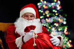 Christmas grandad Stock Photo
