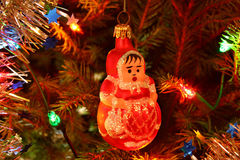 Christmas granny Stock Image