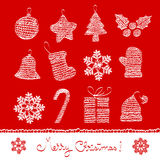 Christmas graph 03 Royalty Free Stock Photography