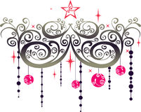 Christmas graphic elements Stock Image